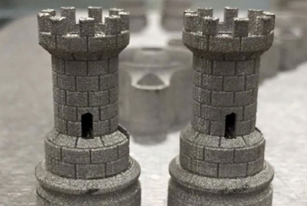 3D printing castle towers